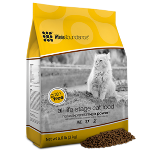 Life's Abundance dry cat food